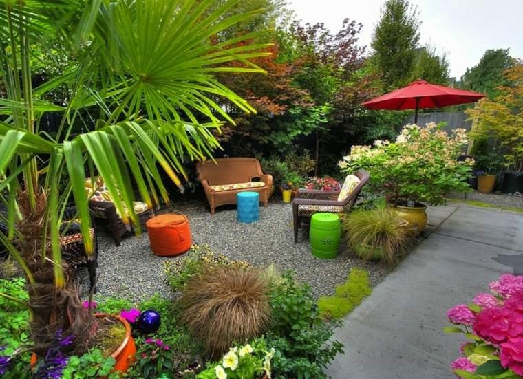 Decoracin de jardines pequeos y patios traseros