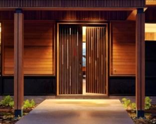 Puertas de madera para el interior y para la entrada de casa