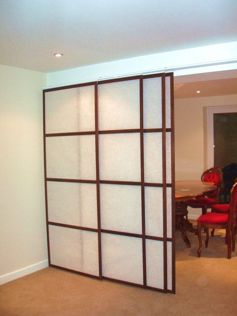 Panel japones moderno y elegante para decorar el interior