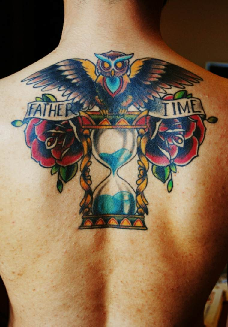 Tatuaje Reloj De Arena Ideas Para Congelar El Tiempo