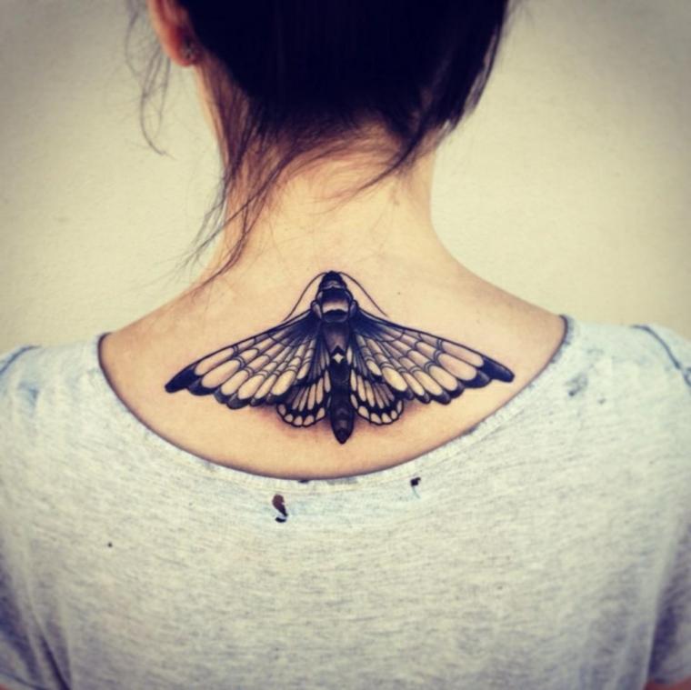 Tatuajes Con Mariposas De Colores Para Las Mujeres