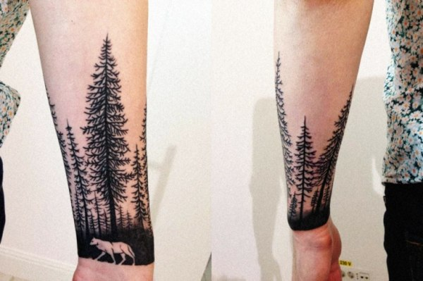 20 Tattoos De Arboles And Pinos Ideas And Designs