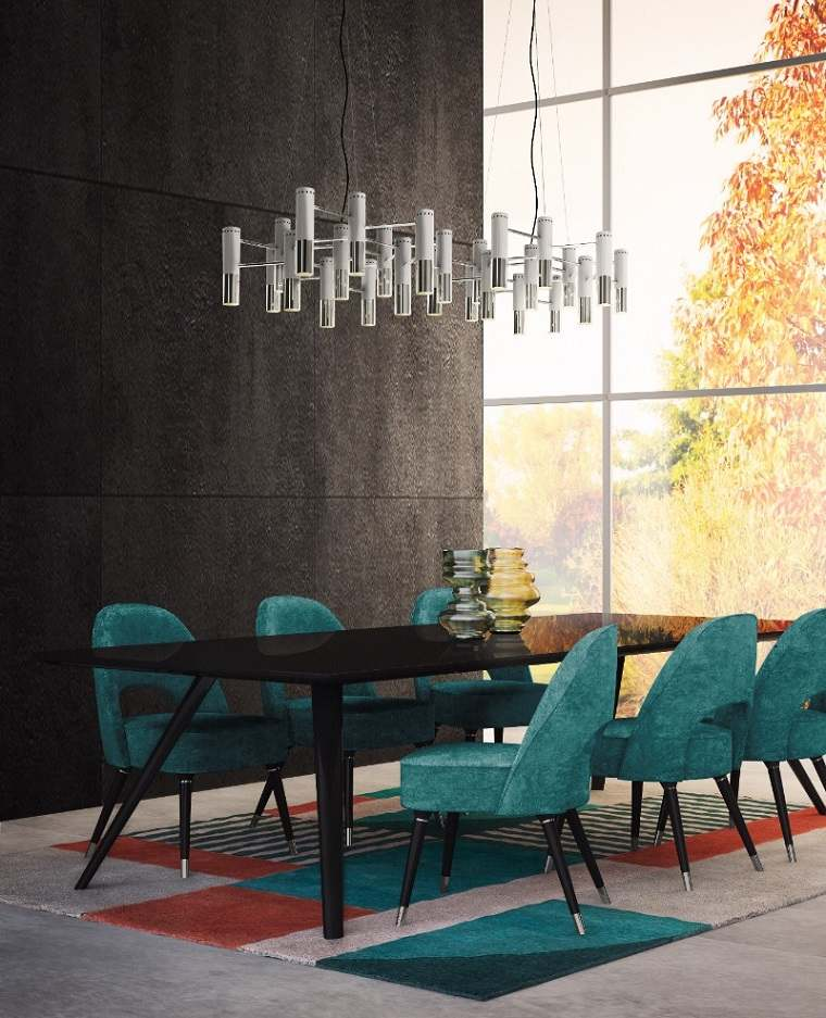 Muebles de comedor modernos  Las tendencias para el 2018