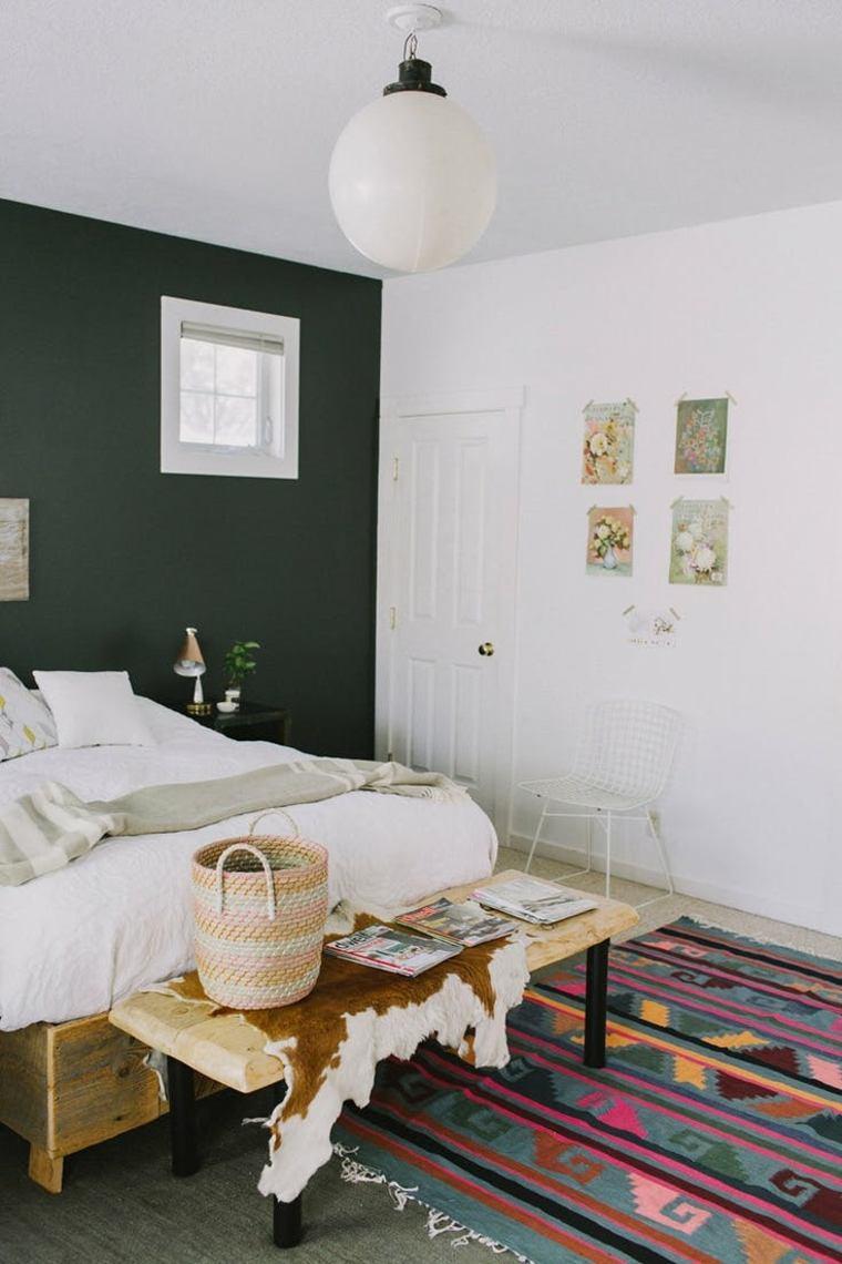 Colores para paredes de acento  tonos oscuros para el