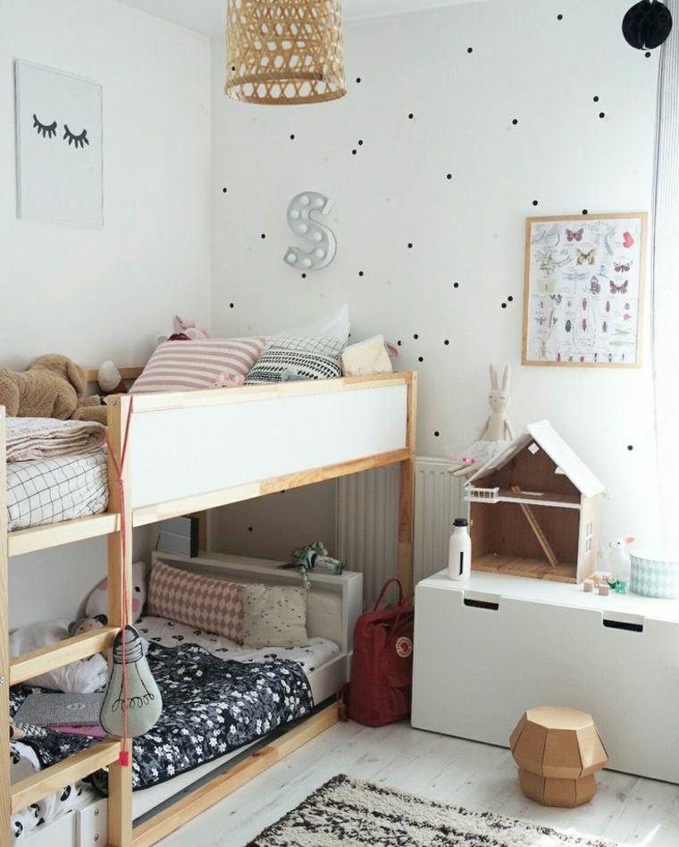Habitaciones infantiles baratas divertidas y con mucho