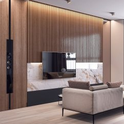 Simple Tv Panel Design For Living Room Old World Style Decor Paneles Decorativos De Madera - Ideas Para Decorar El Salón