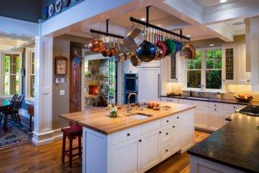 Cocina americana idea para diseñar un espacio