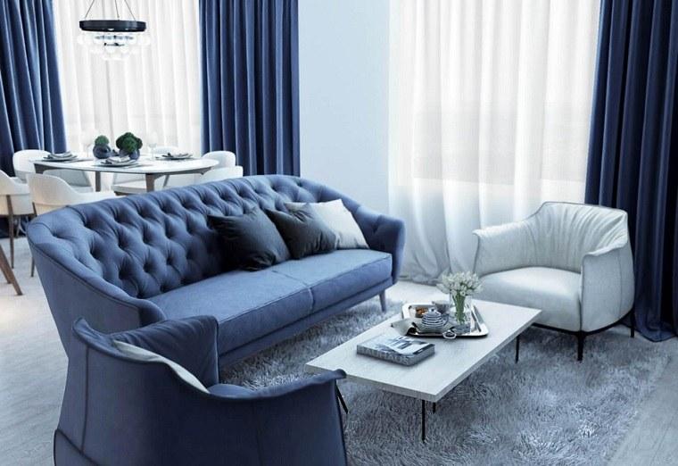 Colores bsicos azul como color principal en el diseo