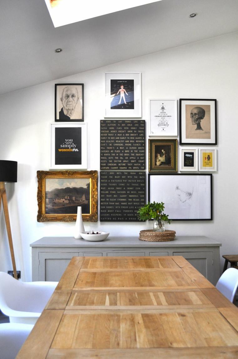 Cuadros originales para decorar la pared y consejos sobre
