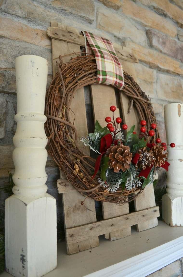Coronas de navidad 60 ejemplos muy originales para decorar