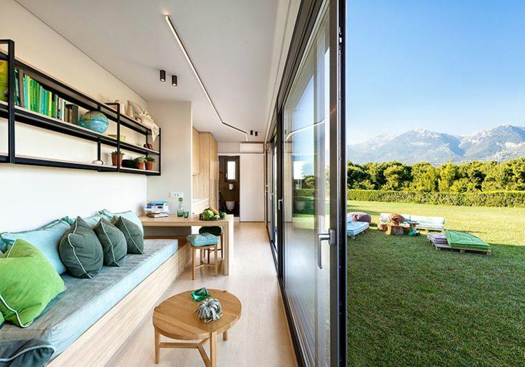 Vivienda modular  un protipo de vivienda ecolgica nmada