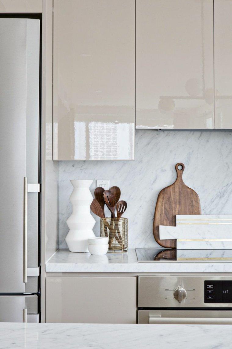 Color visn para los muebles de la cocina  Ideas