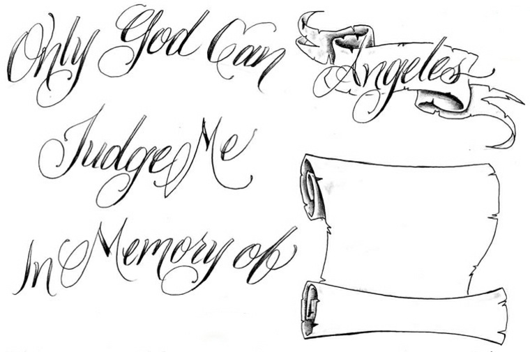 Letras Para Tatuajes Descubre El Estilo Que Encaja Con Tu