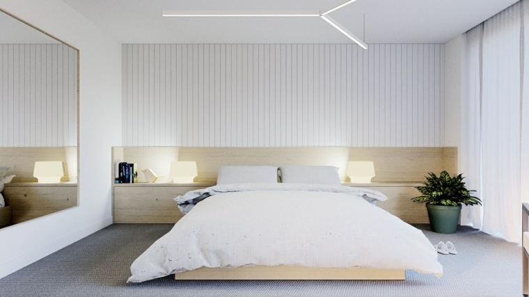 Diseño De Interiores Dormitorios Modernos En Blanco Con