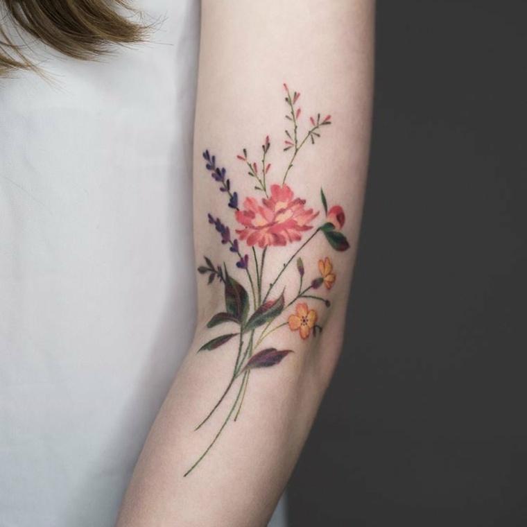 Tattoo De Flores Descubre Diseños Impresionantes Y Nuevos Estilos