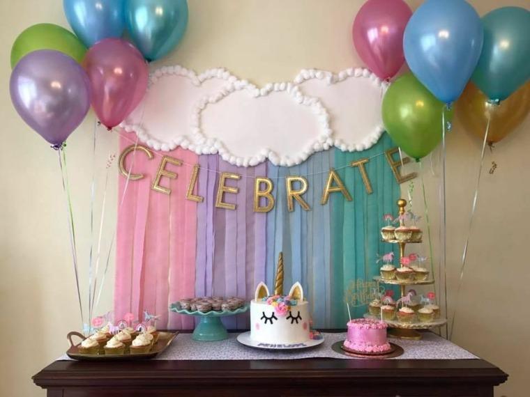 Decoracin con globos para fiestas de cumpleaos infantiles