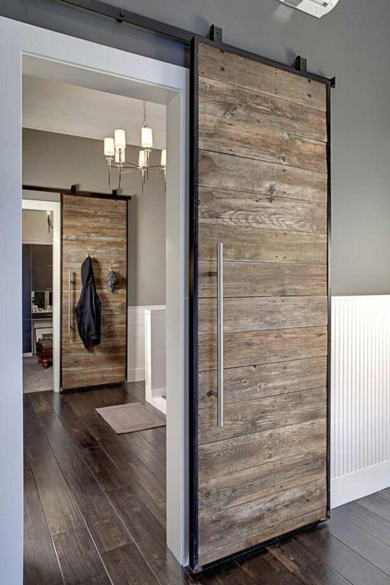 puertas corredizas de madera nuevos