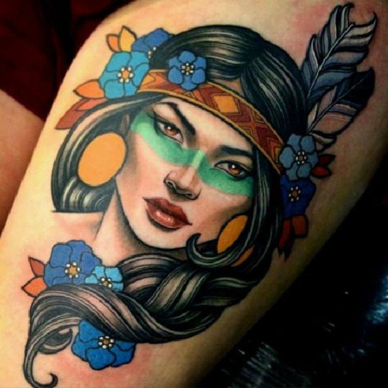 Tatuajes Neo Tradicionales Exquisitos Cuya Perfección Te Fascinará