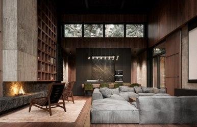 Casas rústicas con interiores modernos descubre ideas geniales de interiorismo