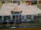 scale mocel of freeman station