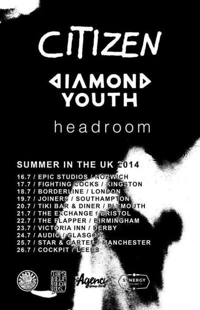diamond youth citizen uk tour 2014