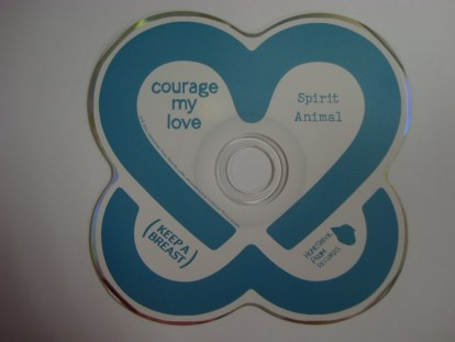 courage my love spirit animal actual cd