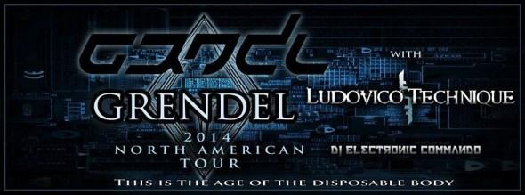 Grendel Tour Poster