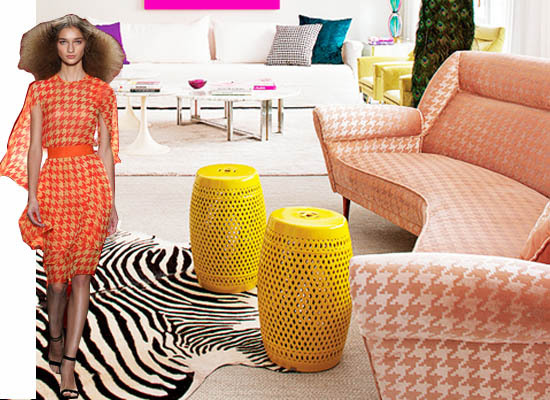 A Special Kravet Deal How To Incorporate Fall's Houndstooth