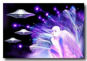 Angel Guide with UFOs