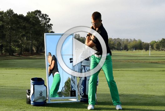 lower body in the golf swing