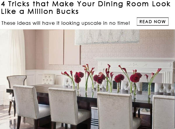 Dining Room Decorating Ideas Just In Time For Easter