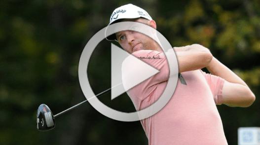 Chris Kirk Golf Impact Position
