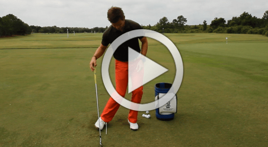 Golf downswing drill