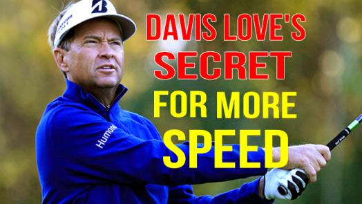 Davis Love III golf swing analysis
