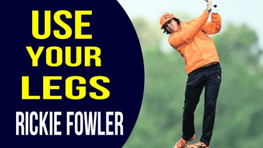 Rickie Fowler golf swing