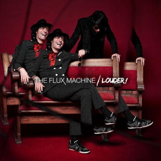The Flux Machine - Louder  - Album Art