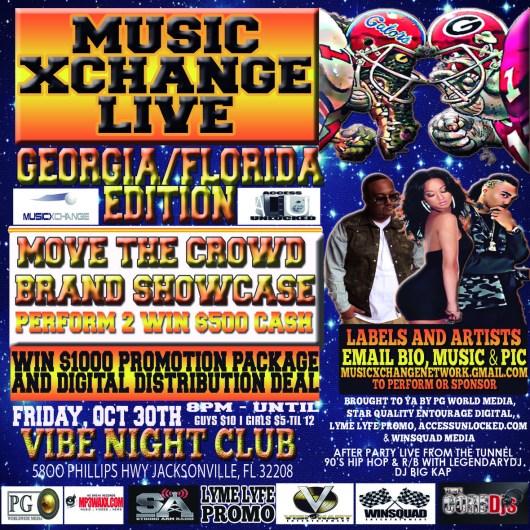 music xchange live jacksonville