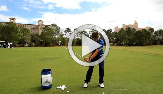 perfect golf ball striking
