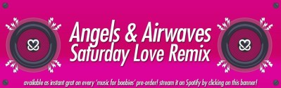 angels and airwaves sat love remix