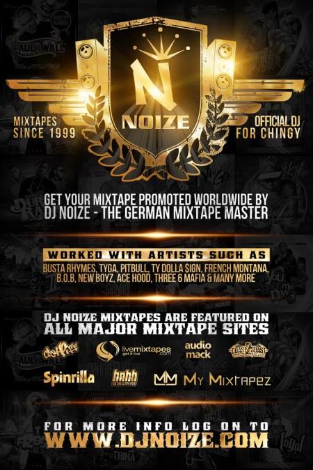 DJ Noize Mixtape Hosting Flyer 2016 800
