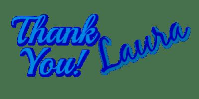 Laura Signature Thank You