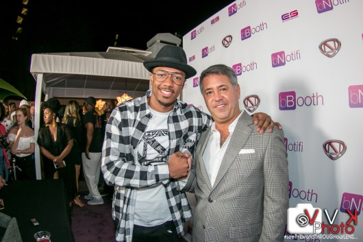 Nick Cannon and Rory Cutaia bBooth CEO