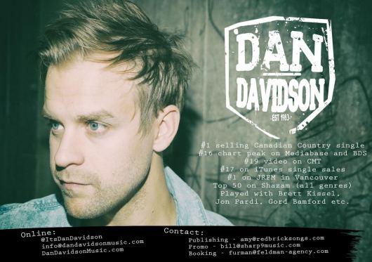 Dan Davidson - One Sheet Highlights
