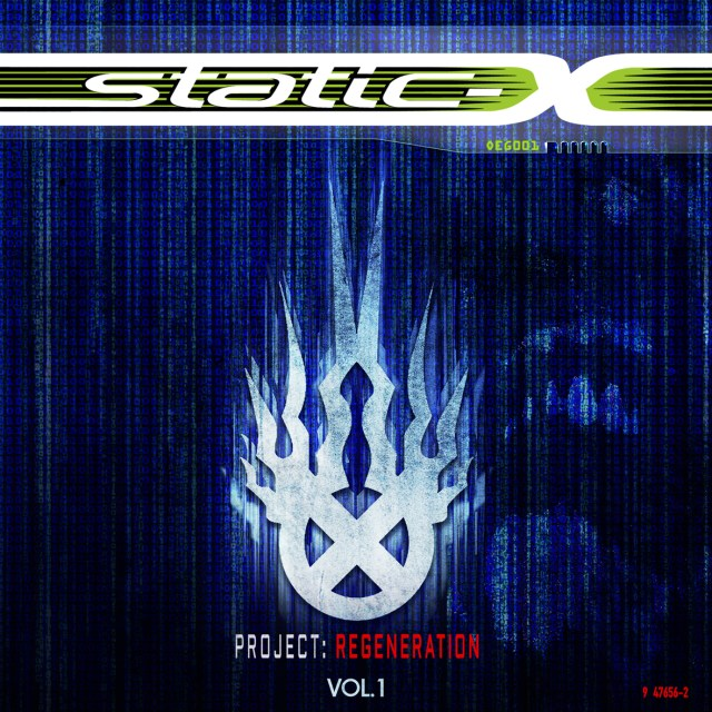 Static-X ProjectRegenerationVol1 Cover