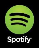 Spotify logo vertical black