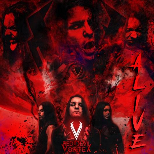Red Devil Vortex - Alive SINGLE COVER 6
