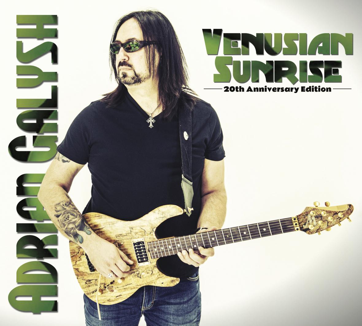 Venusian Sunrise 20th Ann. Edition Cover