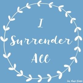 I-surrender-All