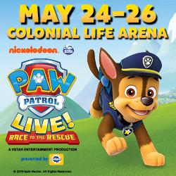 Paw Patrol Colonial Life 2019