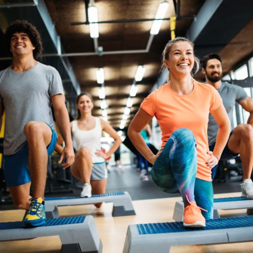group exercise athletic club